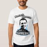 Barack Obama es mi camiseta del homeboy Playeras