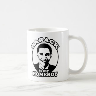 Barack Obama es mi homeboy Taza Clásica