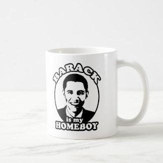 Barack Obama es mi homeboy Taza De Café
