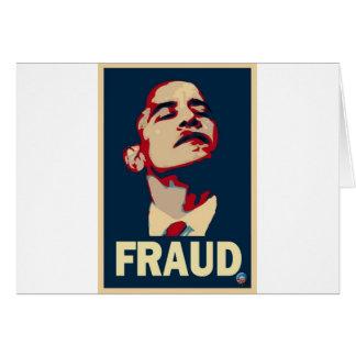 Barack Obama es un fraude Tarjetón
