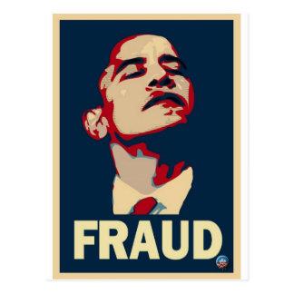Barack Obama es un fraude Postal