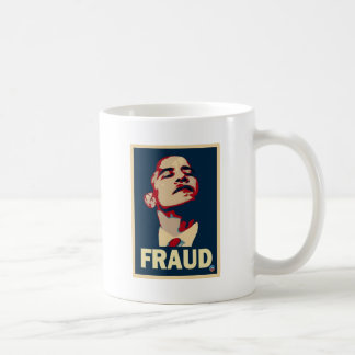 Barack Obama es un fraude Taza De Café