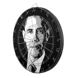 Barack Obama Face Dart Boards