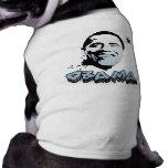 Barack Obama Face Doggie T-shirt