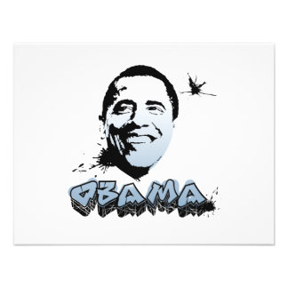 Barack Obama Face Custom Announcements