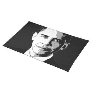 Barack Obama Face Cloth Placemat