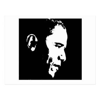 Barack Obama Face Postcard