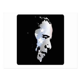 Barack Obama Face Post Card
