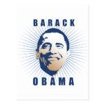 Barack Obama Face T-shirt Postcards