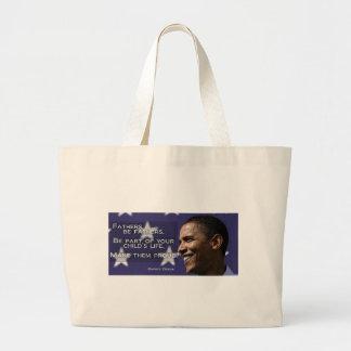 Barack Obama Fathers Bag with Stars