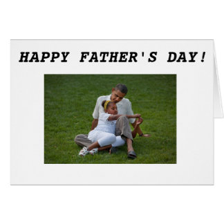 Barack Obama - Father's Day-2 Card