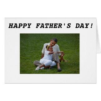 Barack Obama - Father's Day-2 Card