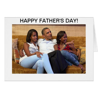 Barack Obama - Father's Day Card