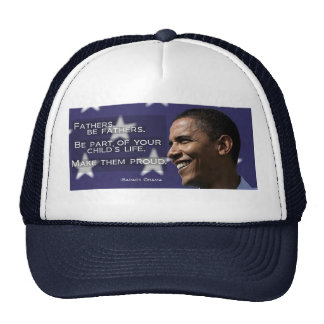 Barack Obama Fathers Hat - Blue