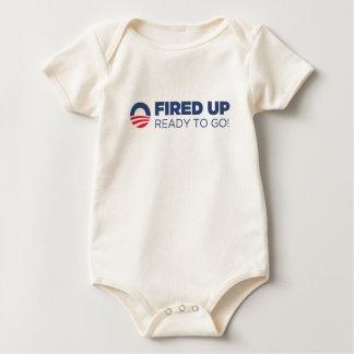 Barack Obama Fired Up Ready To Go Bodysuit