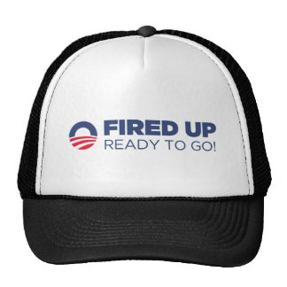 Barack Obama Fired Up Ready To Go Hats