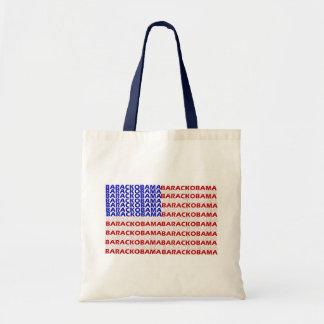 Barack Obama Flag Tote Bag