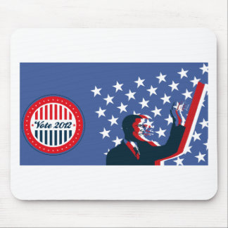 Barack Obama for America 2012 Mouse Pad