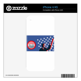 Barack Obama for America 2012 iPhone 4S Decal