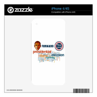 Barack Obama for America 2012 Decal For The iPhone 4S