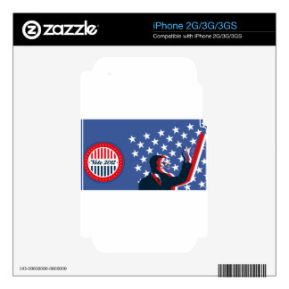 Barack Obama for America 2012 Decal For iPhone 3GS