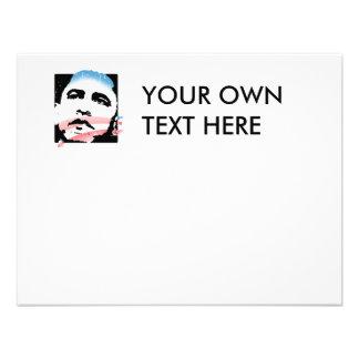 Barack Obama for Hope T-shirt Personalized Invite