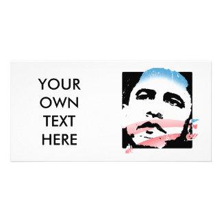 Barack Obama for Hope T-shirt Photo Greeting Card