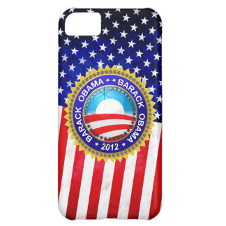 Barack Obama for president 2012 iPhone 5C Cases
