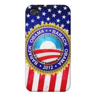 Barack Obama for president 2012 iPhone 4 Case