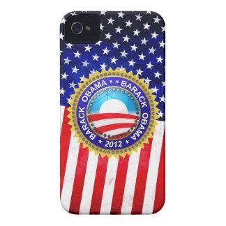 Barack Obama for president 2012 iPhone 4 Case-Mate Case