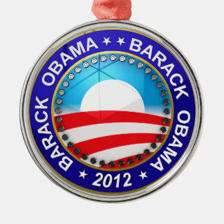 Barack Obama for president 2012 Metal Ornament