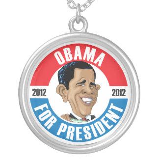 Barack Obama For President 2012 Necklace