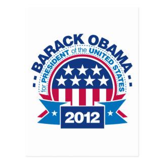 Barack Obama for President 2012 Postcards
