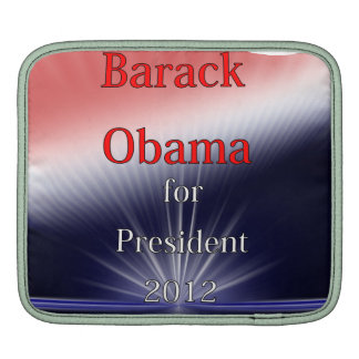 Barack Obama For President Dulled Explosion Sleeve For iPads