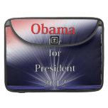 Barack Obama For President Dulled Explosion Sleeves For MacBook Pro