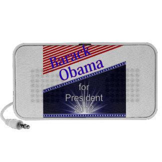 Barack Obama For President Explosion Travelling Speaker