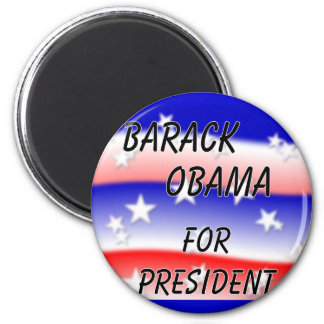 Barack Obama For President Fading Red White And Bl Refrigerator Magnets