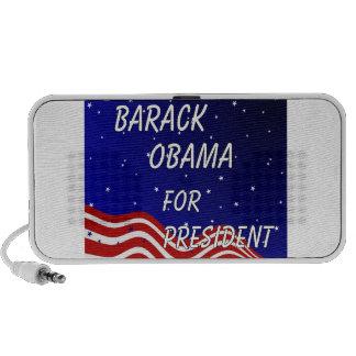 Barack Obama For President Night Sky iPod Speakers