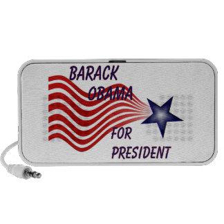 Barack Obama For President Shooting Star Speaker