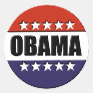 Barack Obama for President Stickers