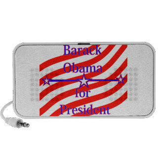 Barack Obama For President Strips With 3 Stars And Portable Speakers