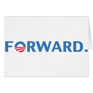 Barack Obama Forward (Blue) Card