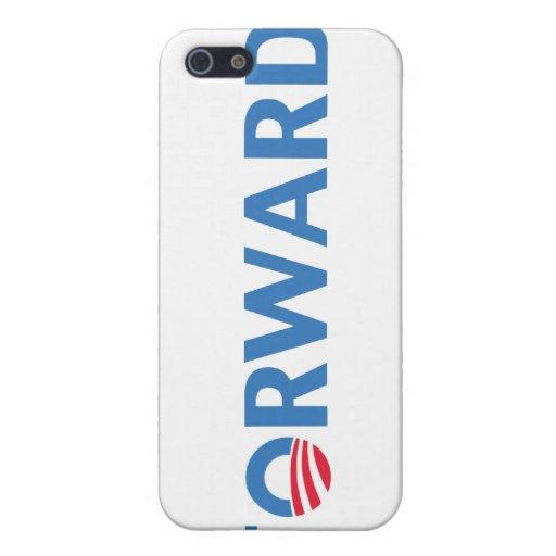Barack Obama Forward (Blue) iPhone 5 Cases