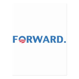 Barack Obama Forward (Blue) Postcard