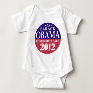 Barack Obama - Four More Years - 2012 Baby Bodysuit
