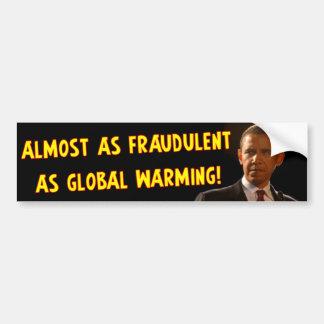 Barack Obama: Fraude Pegatina Para Auto