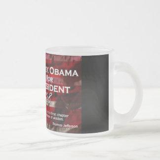 Barack Obama Frosted Mug