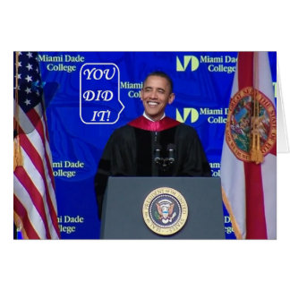 Barack Obama - Graduation Card-M Card