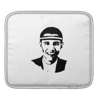 BARACK OBAMA HEADBAND -.png Sleeves For iPads