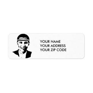 BARACK OBAMA HEADBAND -.png Return Address Label